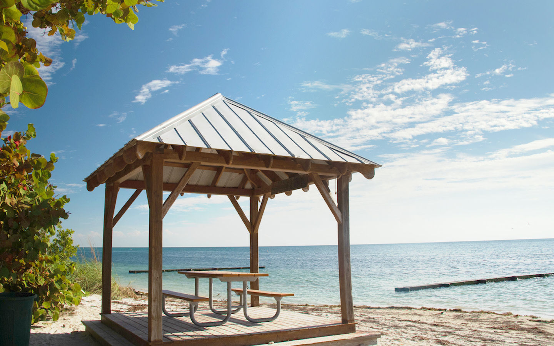 Pavilhão à beira-mar