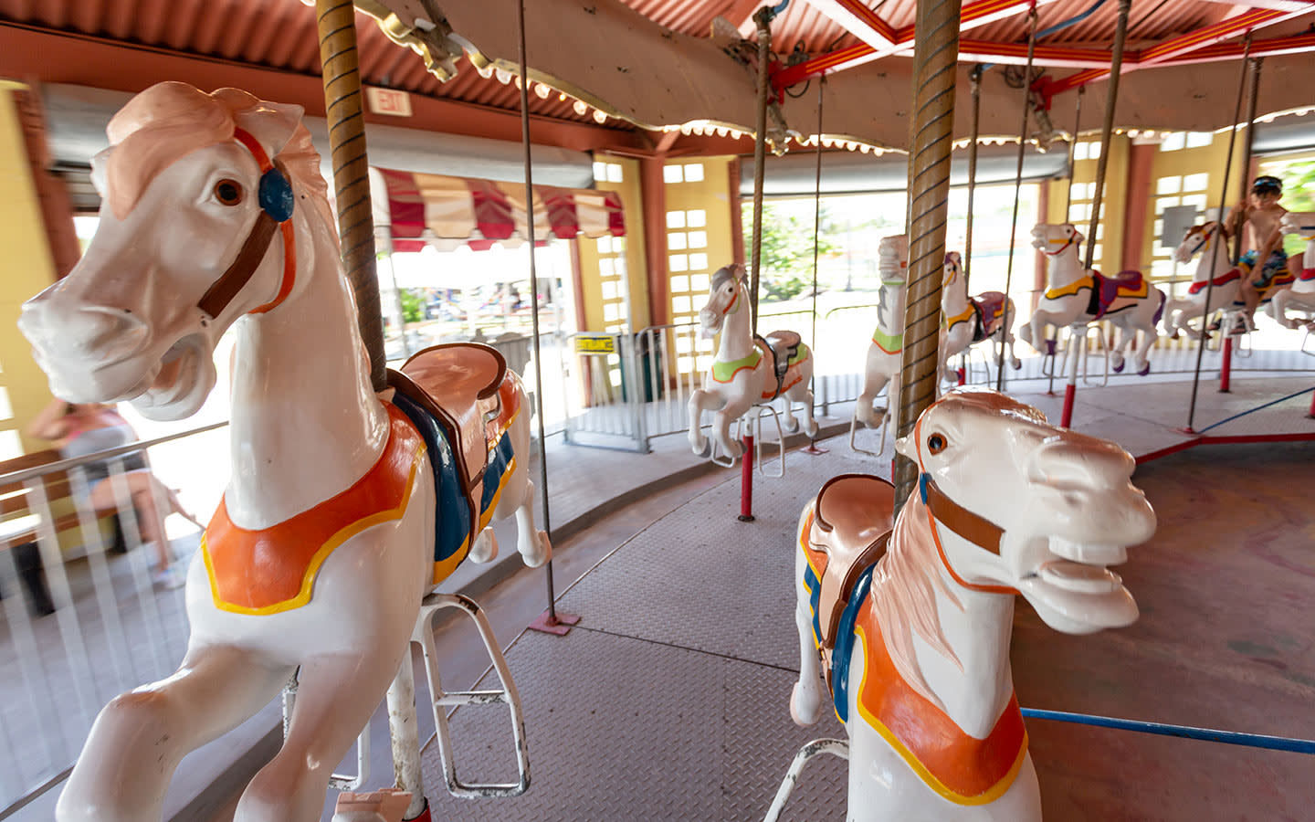 Historic Virginia Key Beach Park Carousel