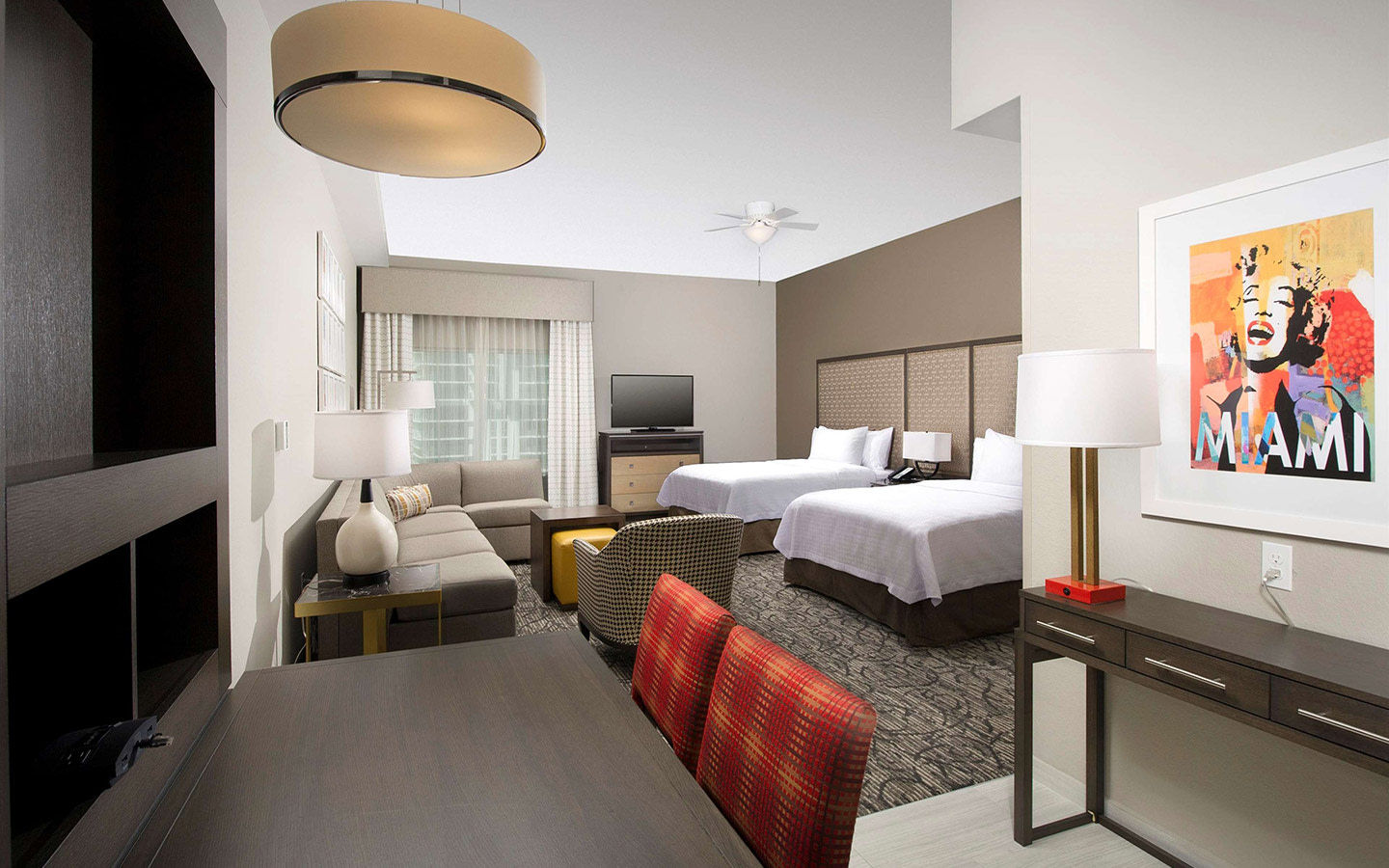 Give yourself some space at Homewood Suites Miami
