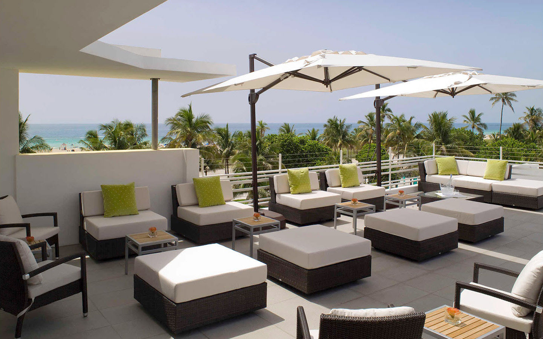 Breakwater Hotel Rooftop Lounge
