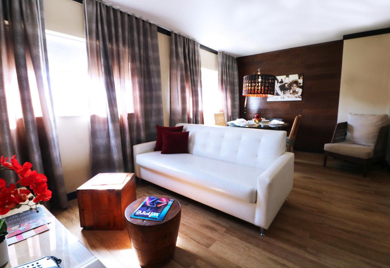One Bedroom Suite - Two Queens - Living Area