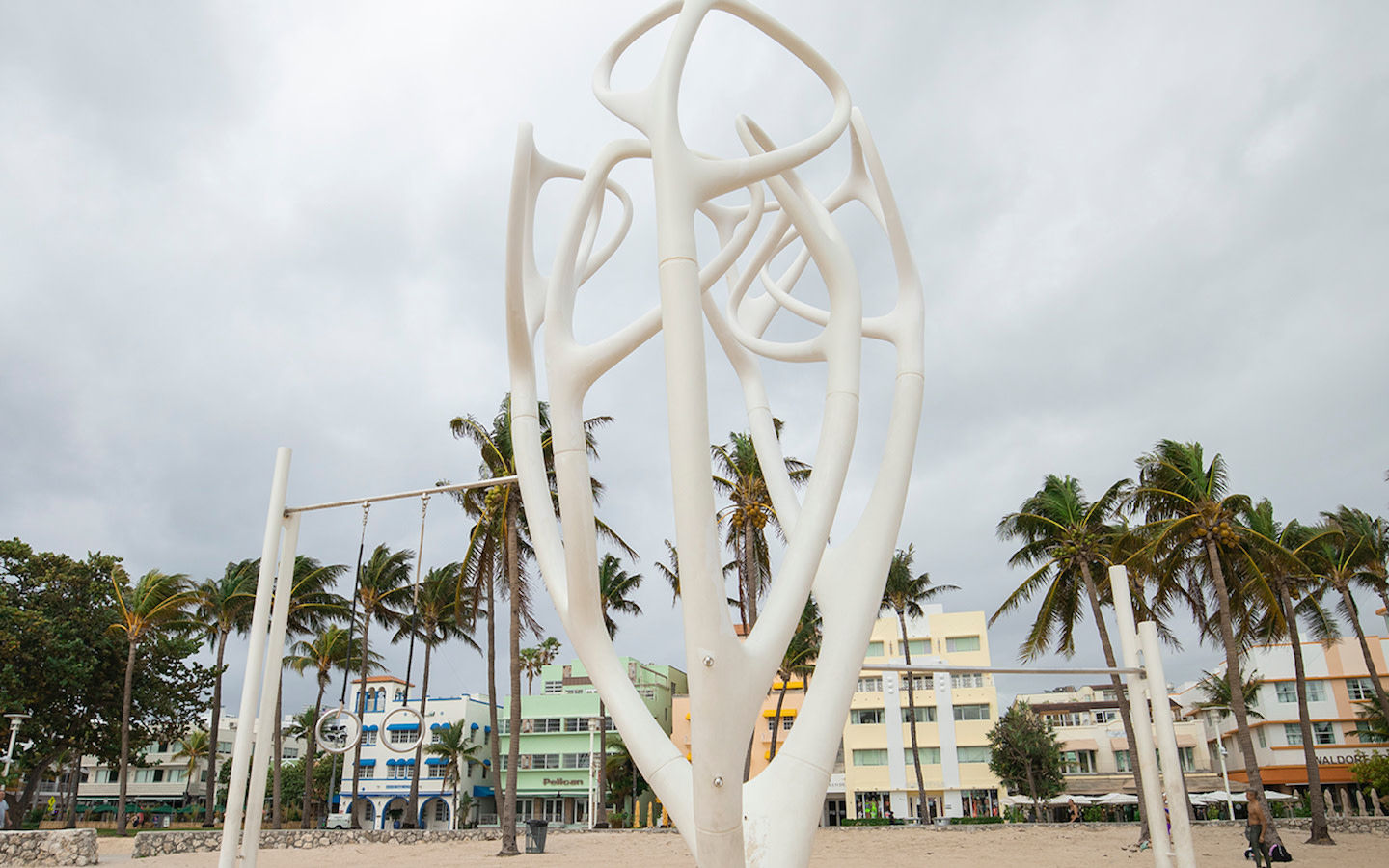 Sculpture at Lummus Park