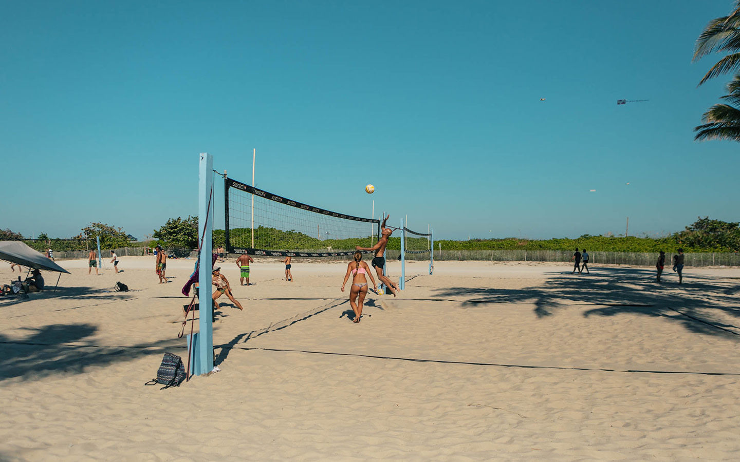 Lummus Park Volleyball