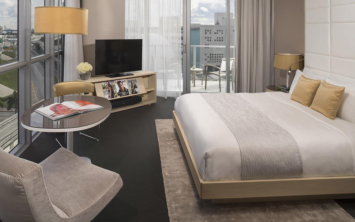 La chambre Gabriel Miami, collection Curio by Hilton