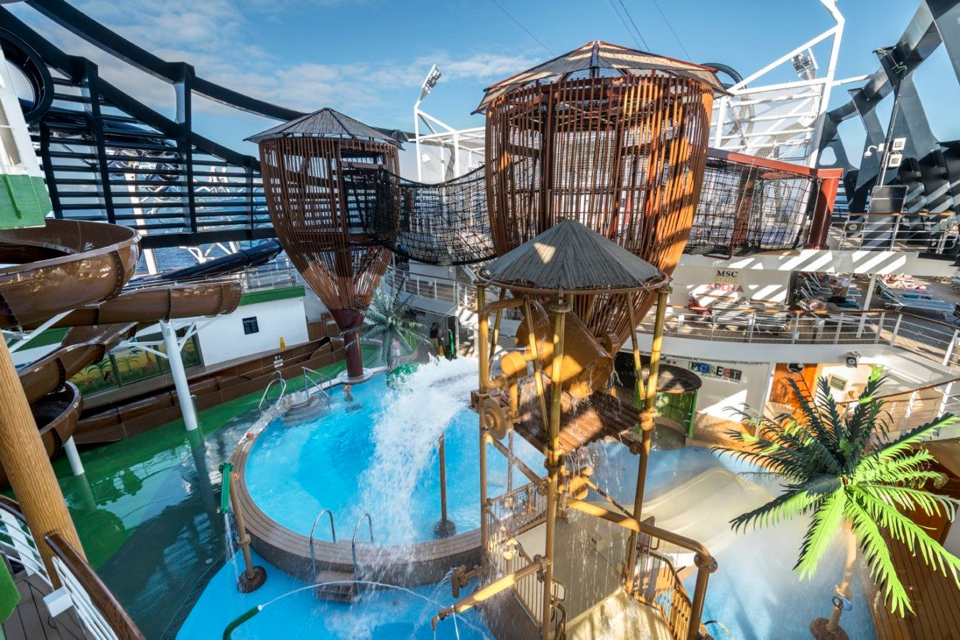 MSC Seaside Water Park