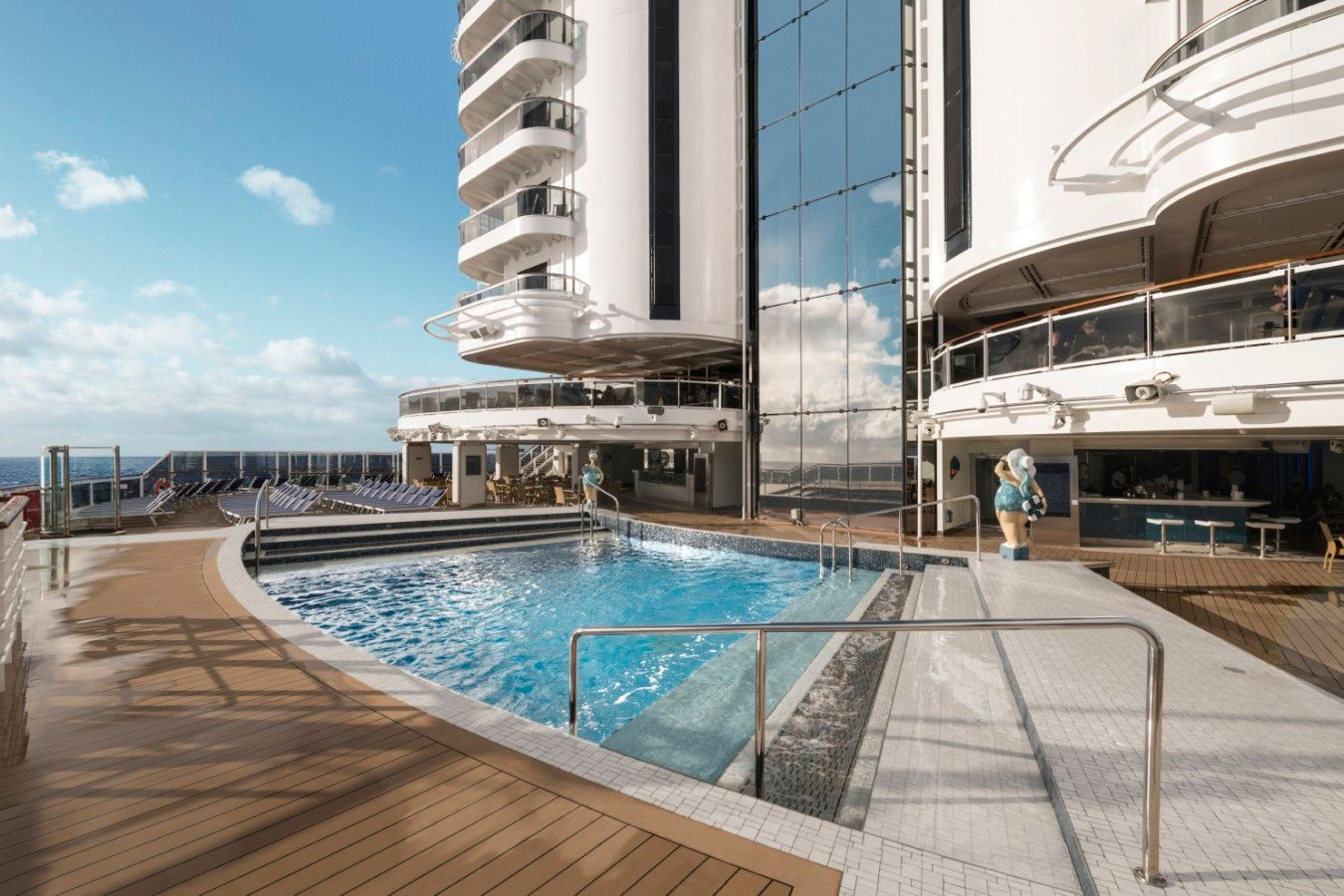 MSC Seaside South Beach Pool
