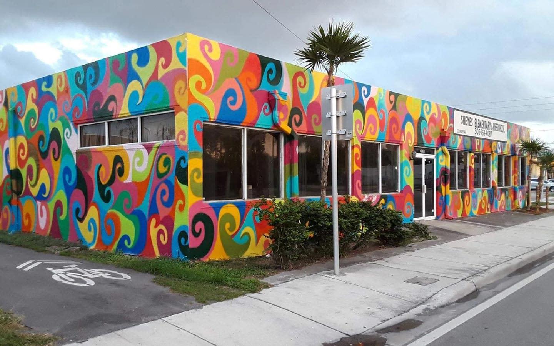 M. Blake artwork on Elementary School