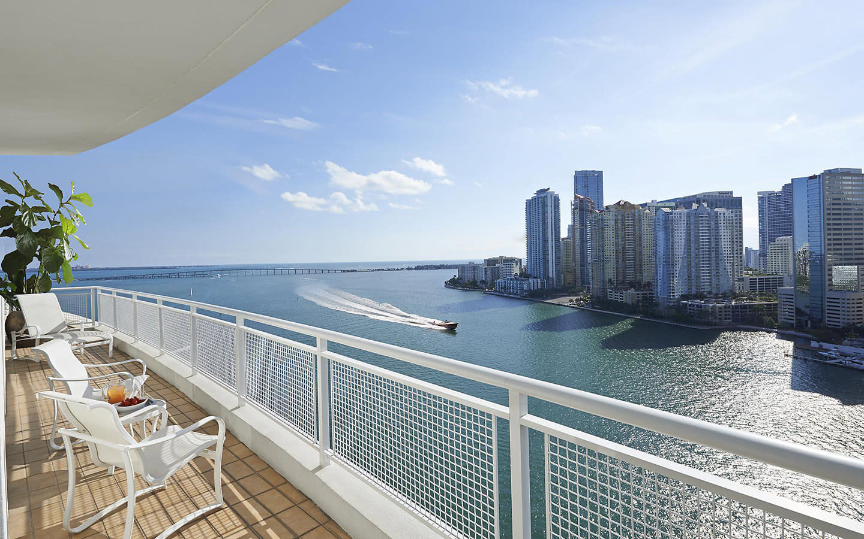 Mandarin Oriental, Miami Balkon