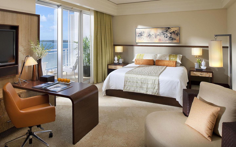 Mandarin Oriental, Miami guestroom