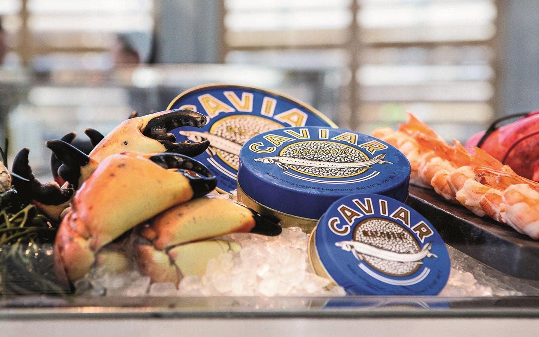 Market caviar