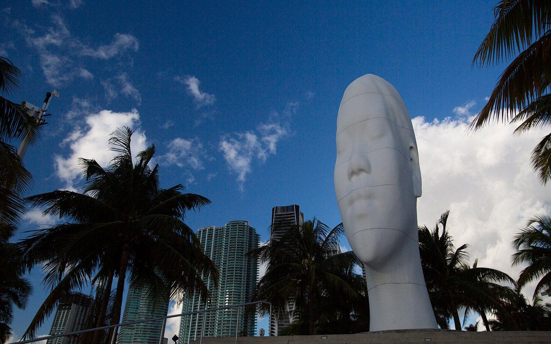 Maurice Eine Ferré Park Skulptur