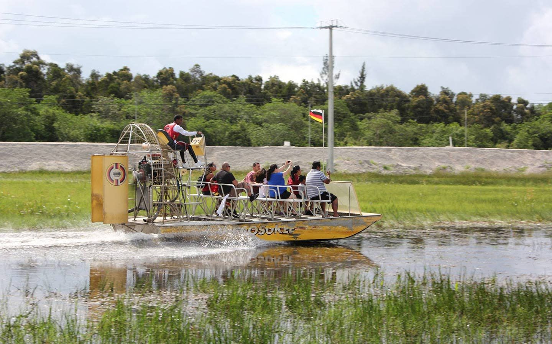 Miccosukee Airboat Rides