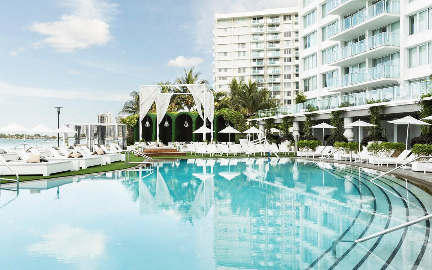 Mondrian South Beach Pool View