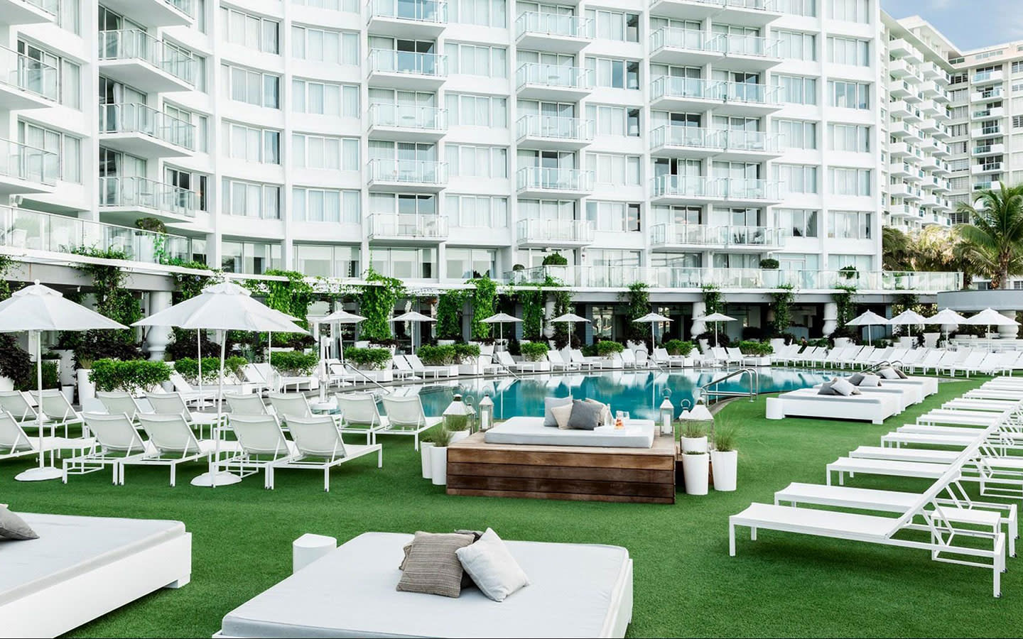 Mondrian South Beach Pool Deck
