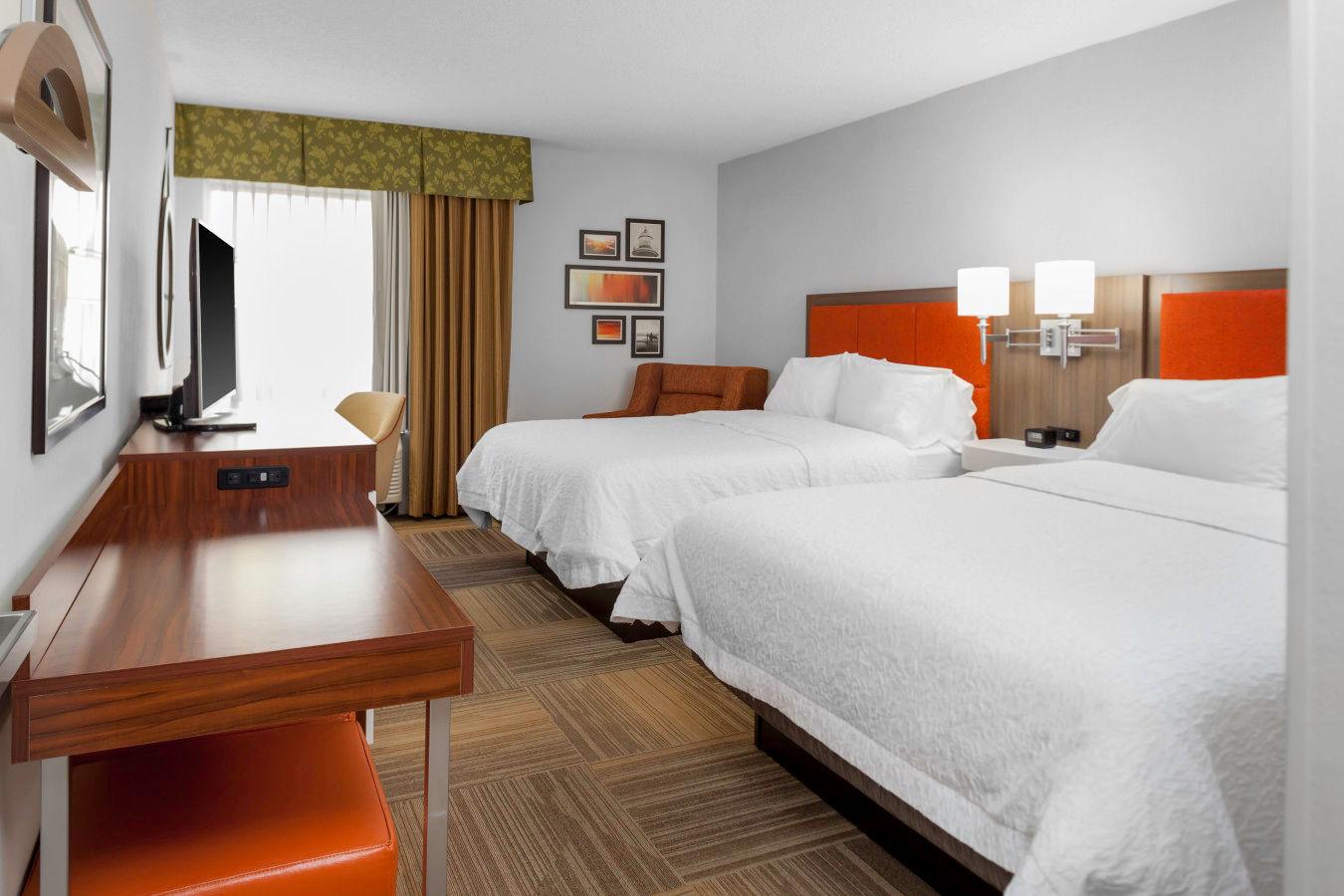 Two - Queen double bed room.