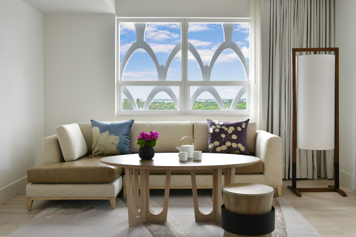 Junior Suite Two Queen Bay View - Nobu Hotel Miami Beach