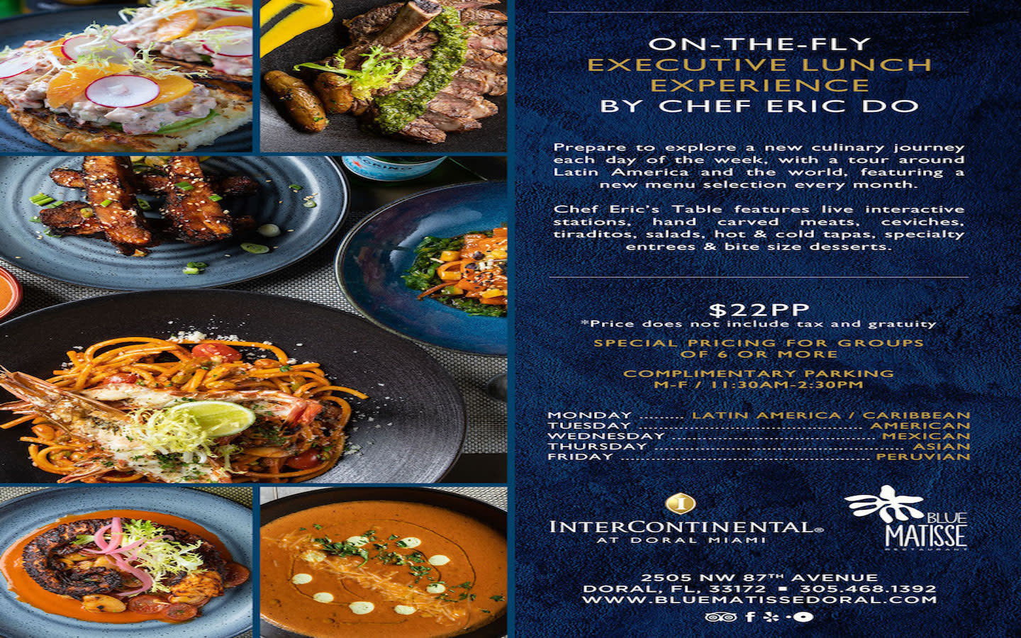 Executive Lunch Experience with Chef Eric Do