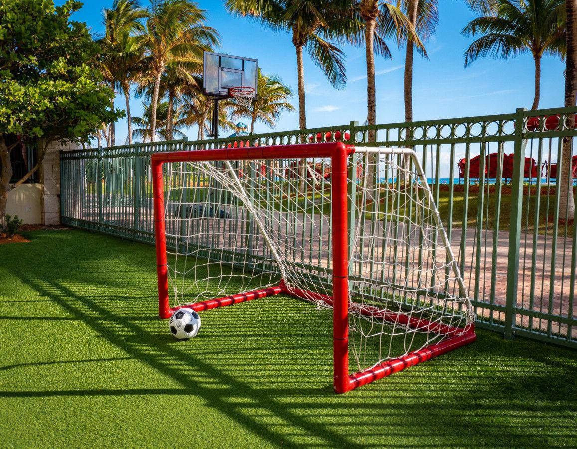 Oceanfront Soccer Field