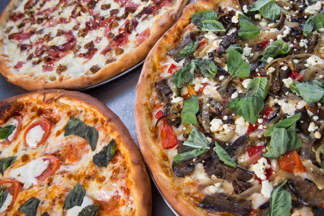 Crust Trio Pizzas