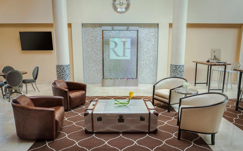 Regency Hotel lobby