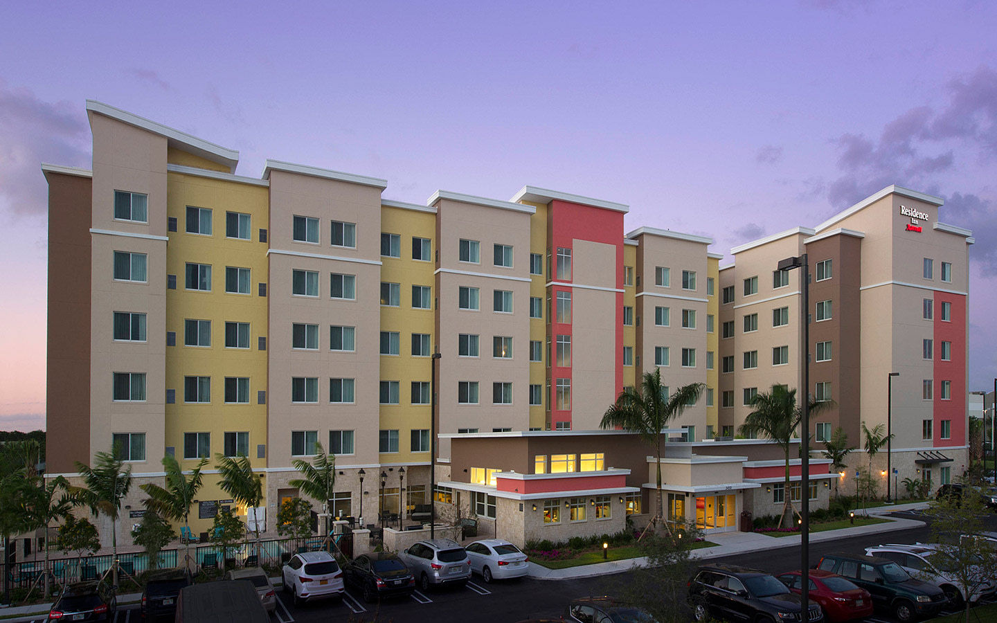 Residence Inn Miami Airport Ouest/ Doral Crépuscule