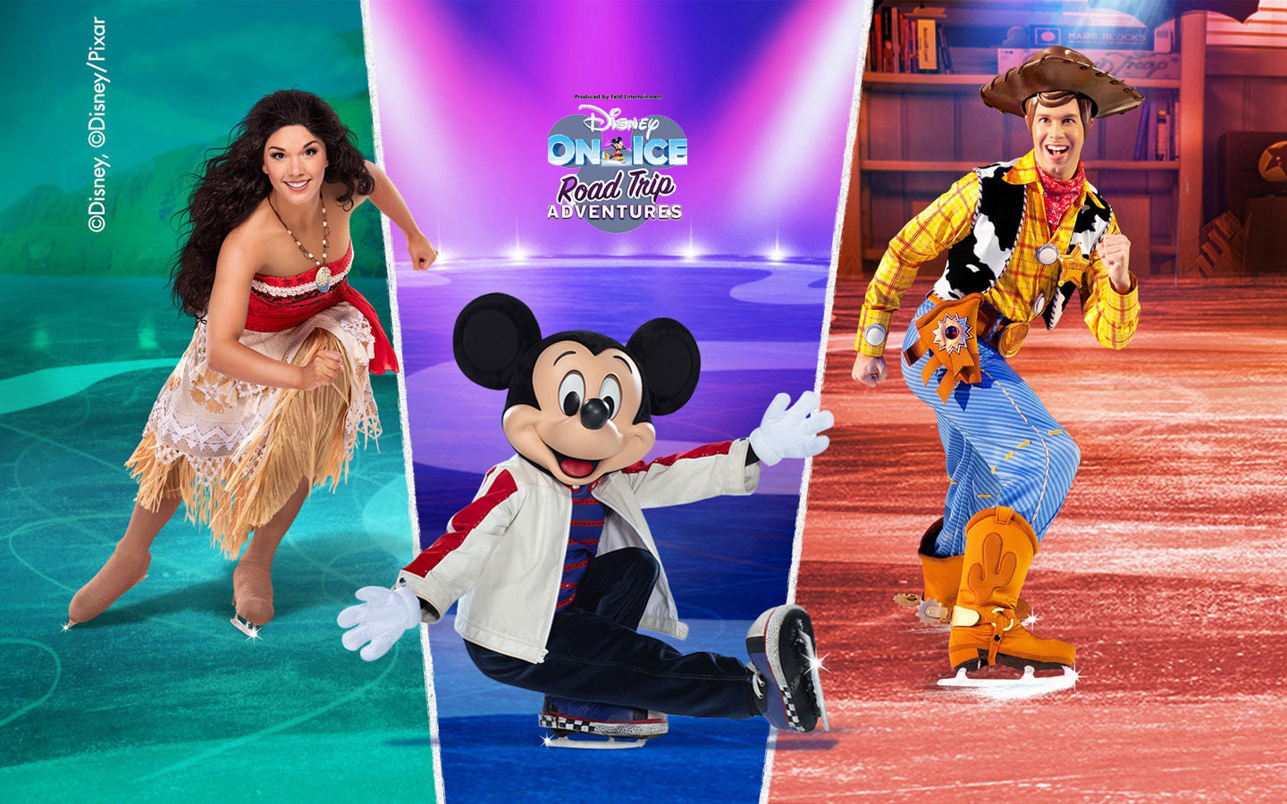 Disney on Ice presenta Road Trip Adventures