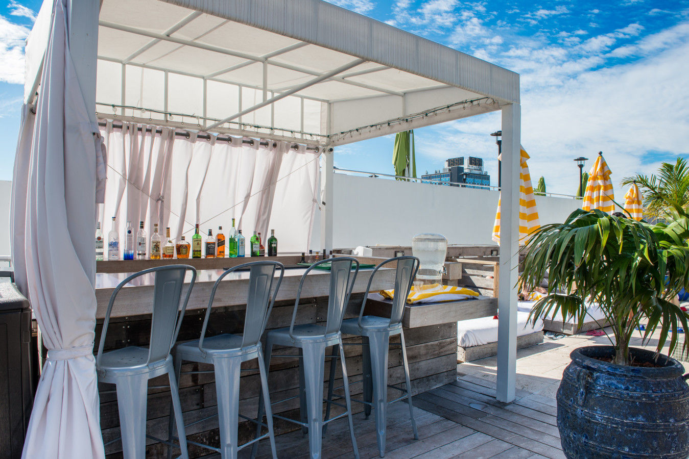 Bar sur le toit