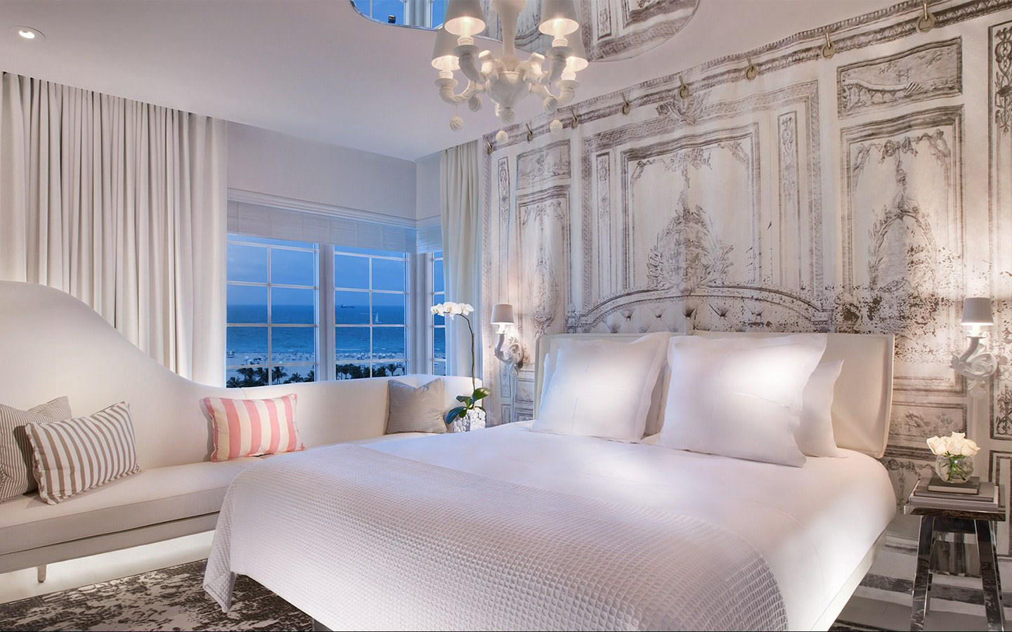 Ocean View King at SLS Hotel South Beach