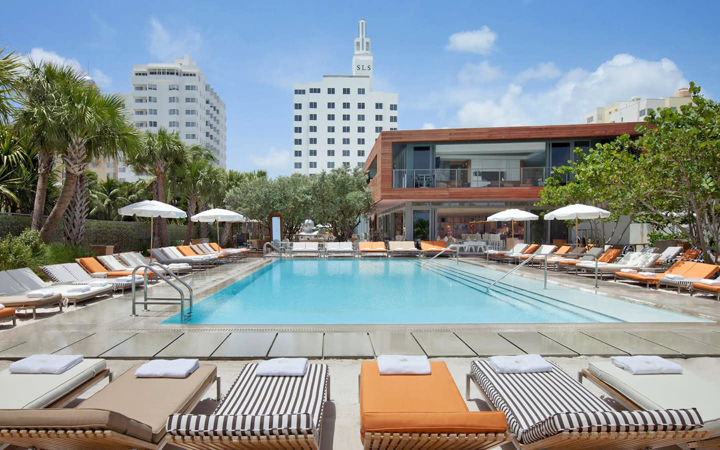 SLS South Beach Pool