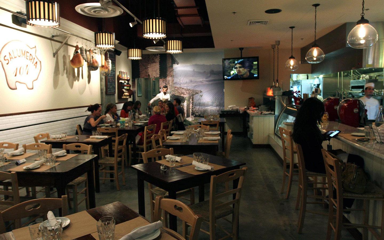 Salumeria 104 Dining Area