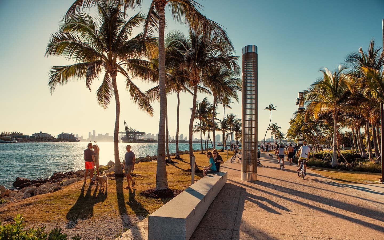 South Pointe Park In Miami Beach