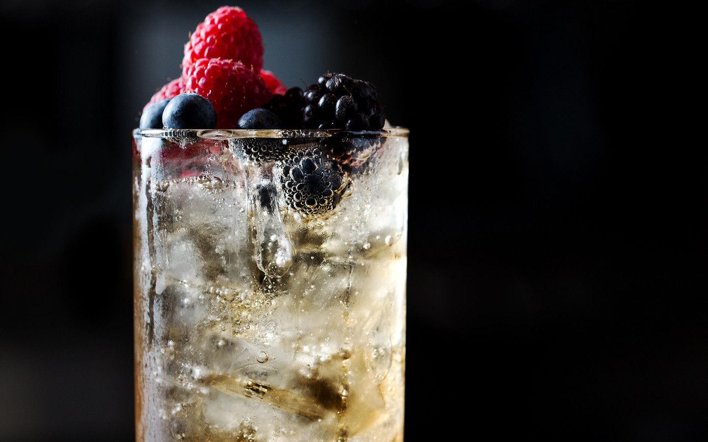 Berry Spritz sem Espírito