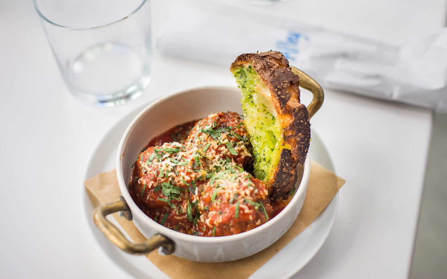 VEAL & MORTADELLA MEATBALLS