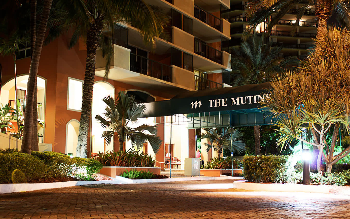 The Mutiny Hotel entrance