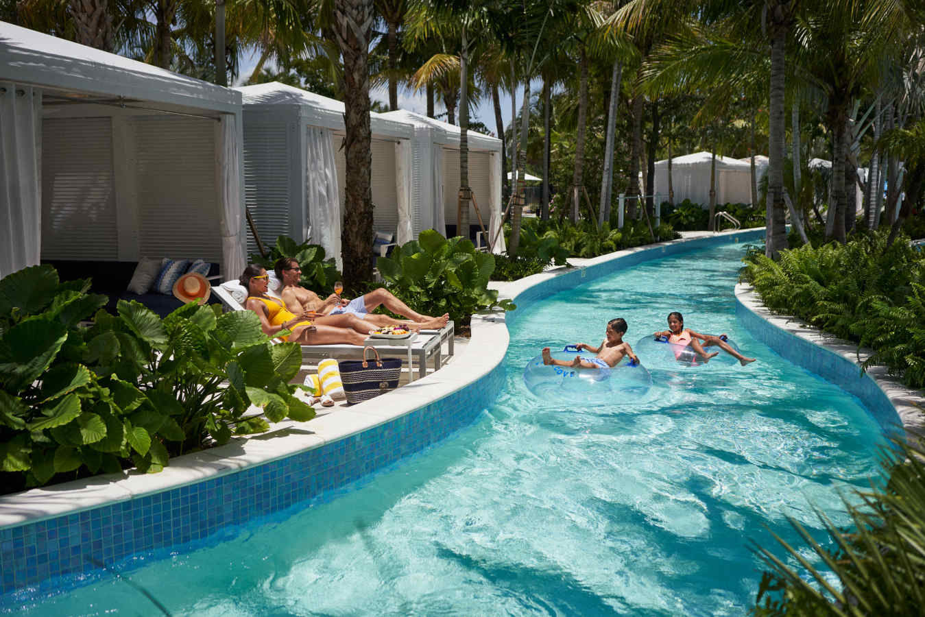 Tidal Cove Lazy River Cabana