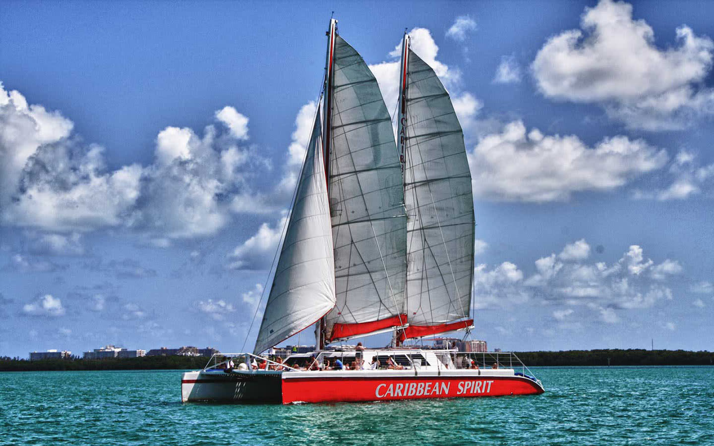 Tropical Sailing Catamaran