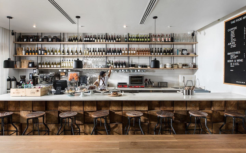 Urbanica der Meridian Hotel Cafe