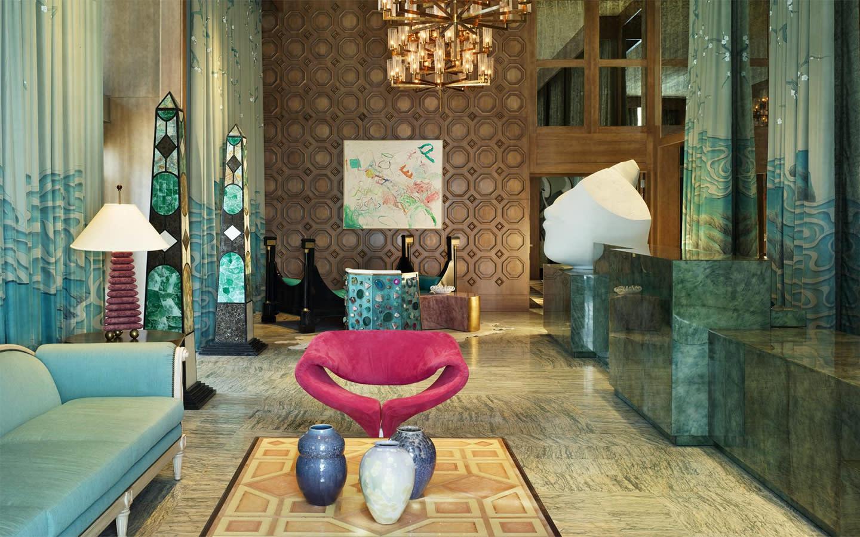 W Miami Lobby