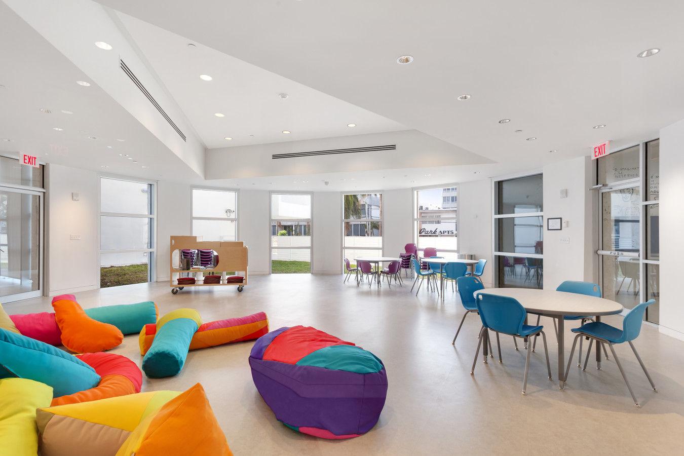 Sala de aula Rotunda