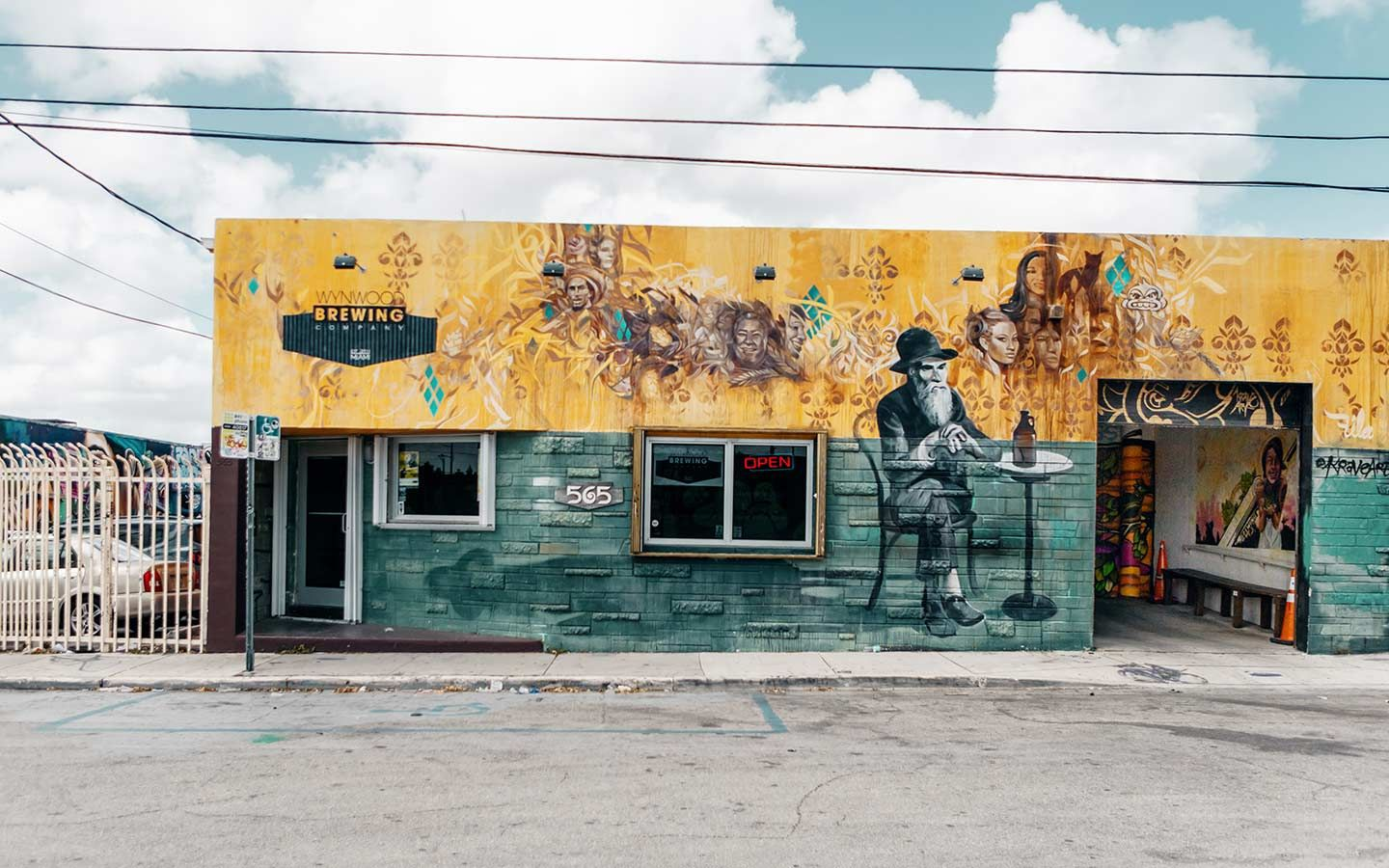 Wynwood Brewing Company Exterior