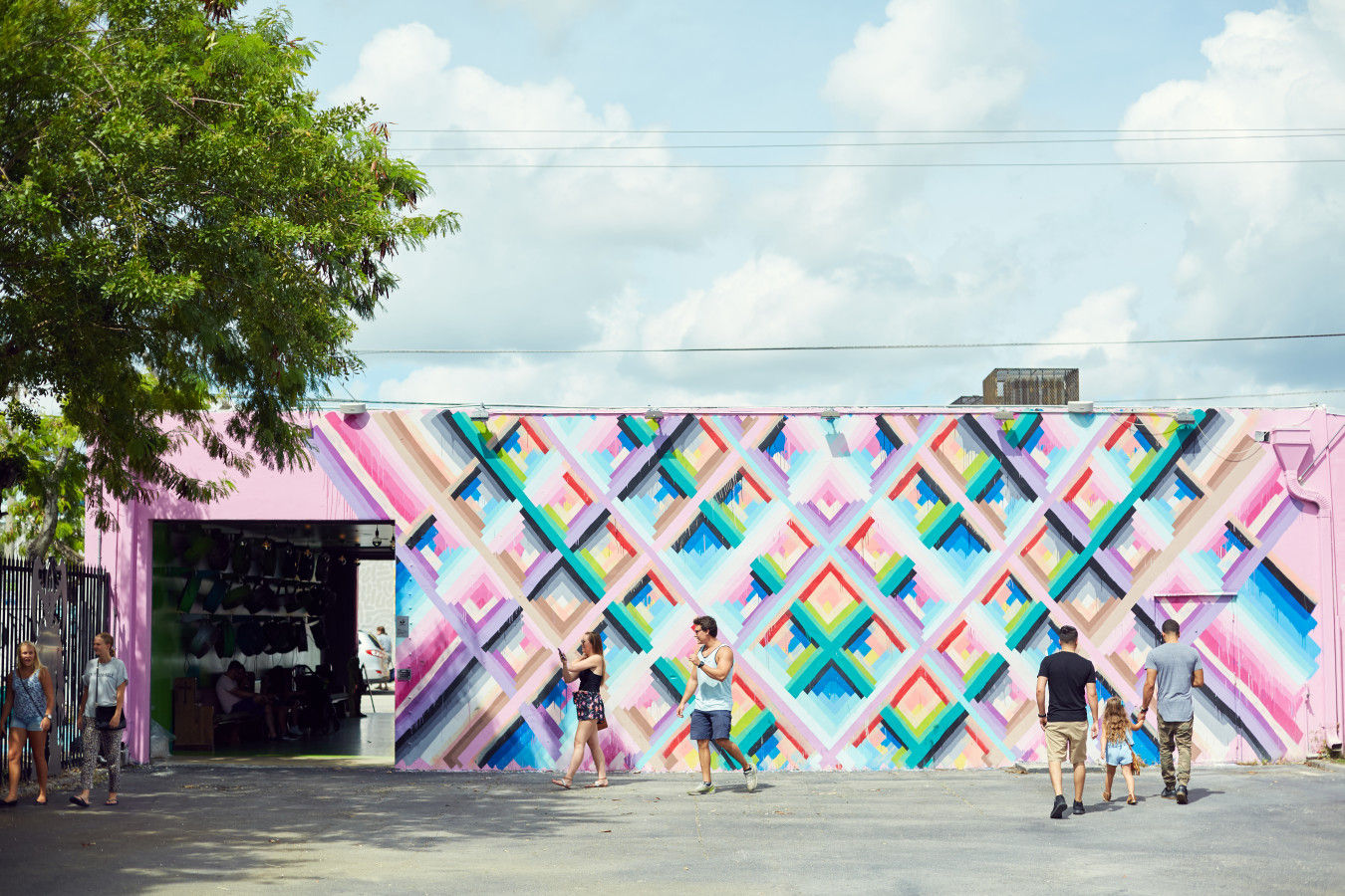 Wynwood street art in the Wynwood Walls