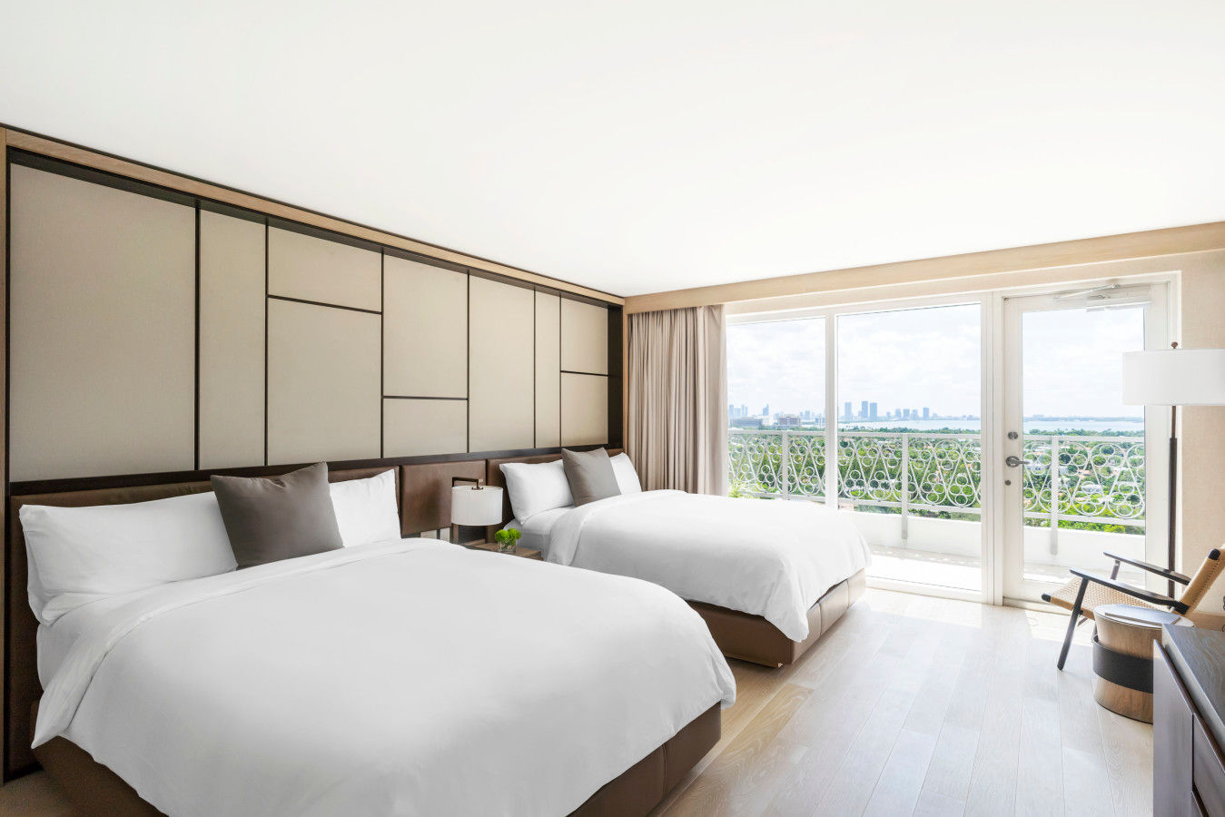 Yuhi Villa Connecting Two Queen - Nobu Hotel Miami Beach