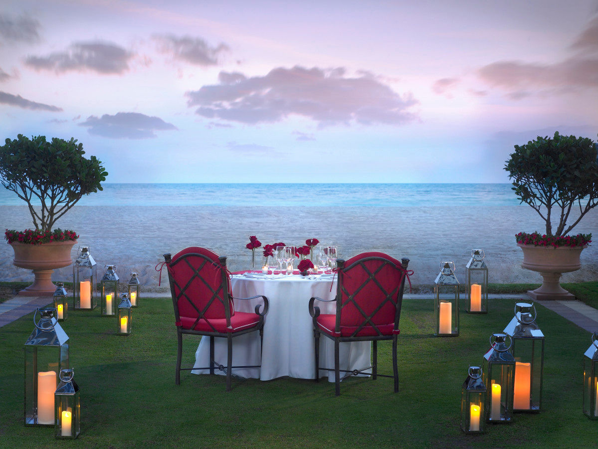 Intimate Beachfront Dining