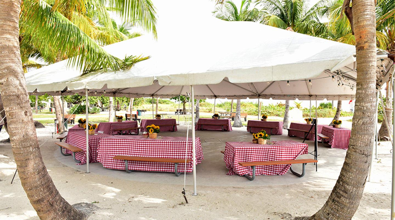 Historic Virginia Key Beach Park Historic Dance Floor