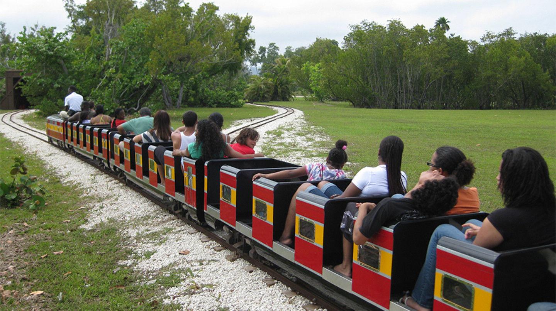Historic Virginia Key Beach Park Historic Mini Train