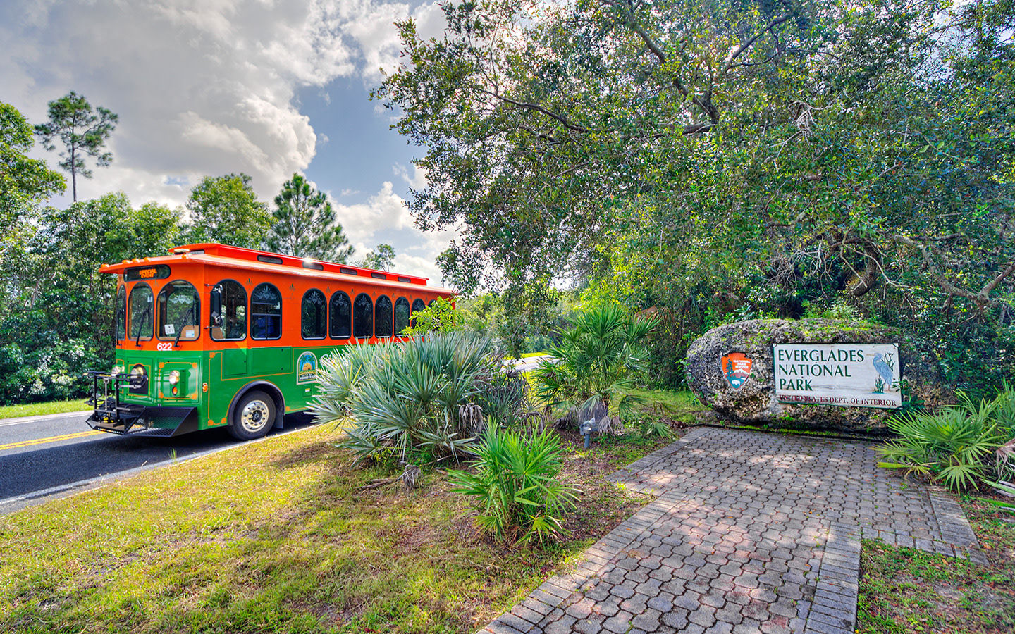Everglades Nat'l Park trolley