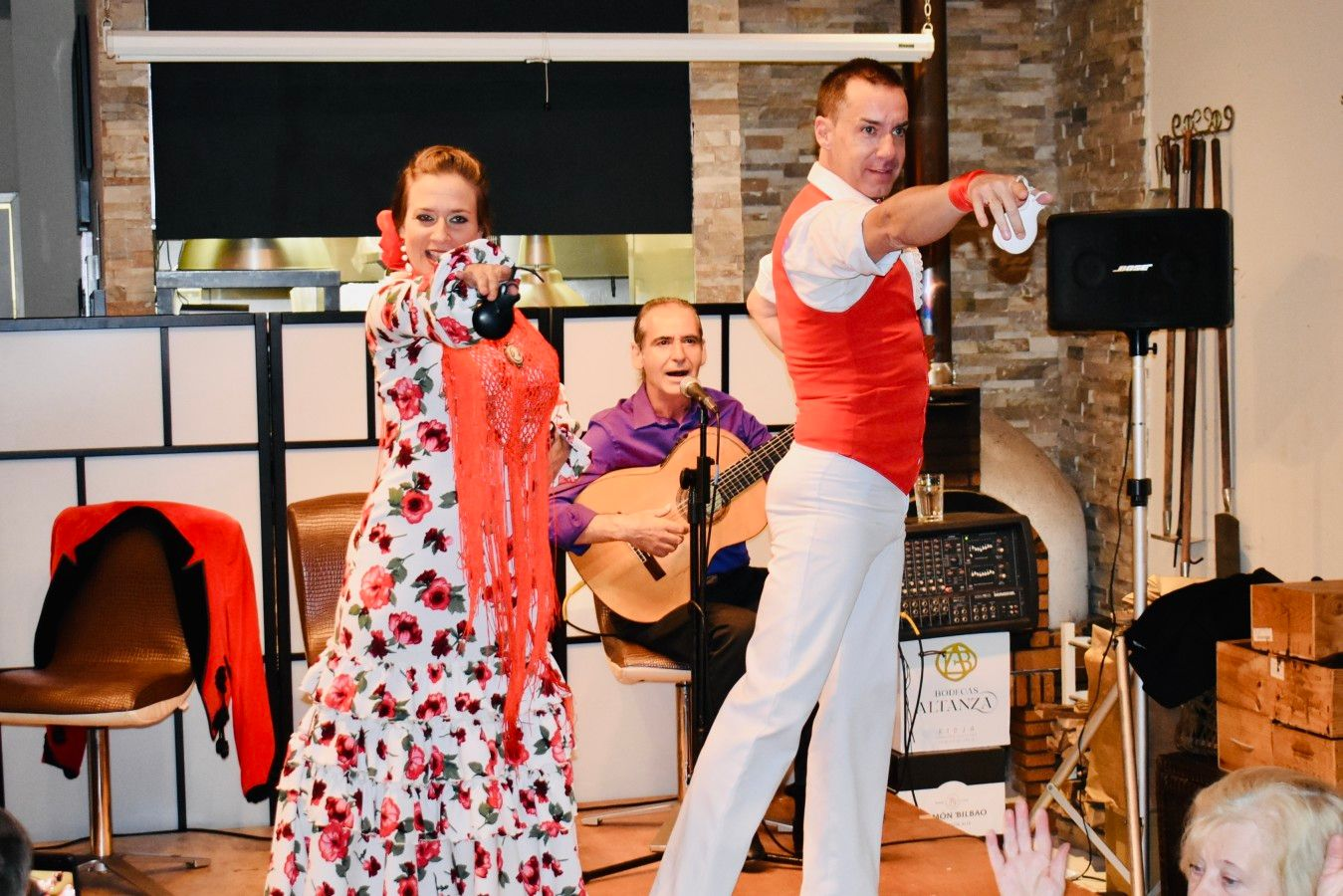 Flamenco Nights offered one Saturday a month