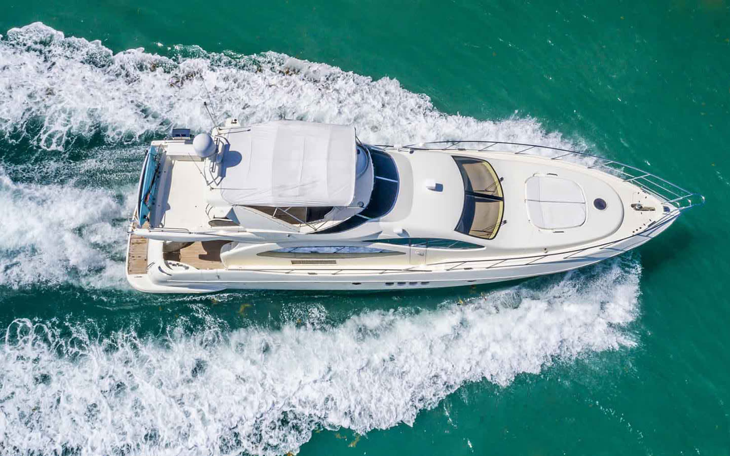 Sunset Spa & Wellness Yacht Charters - aerial view of Krystal