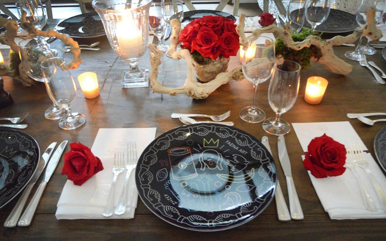 Le Basque table setting