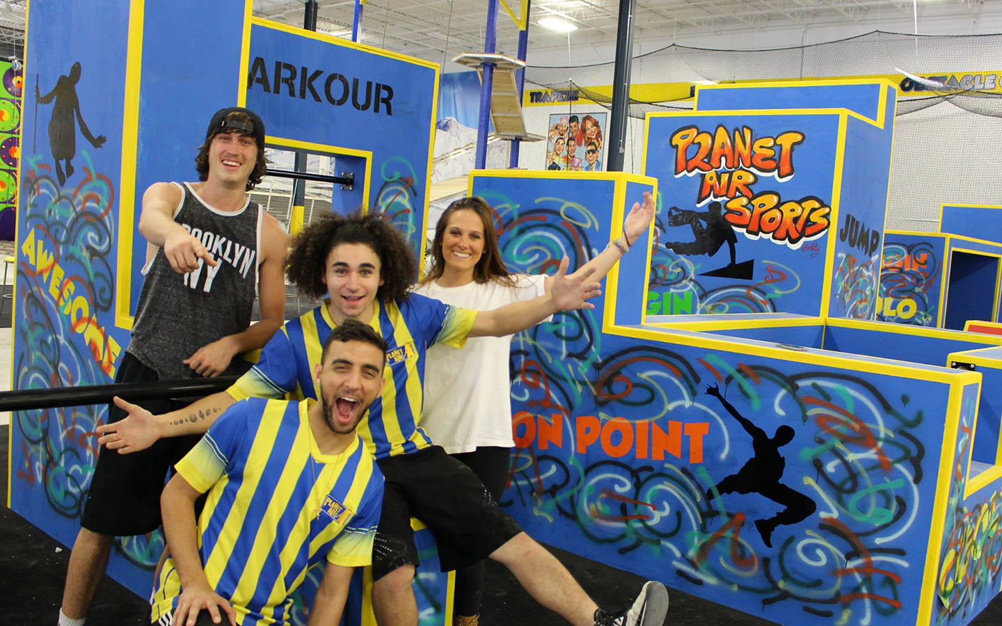 Planet Air Sports Parkour Attraktion